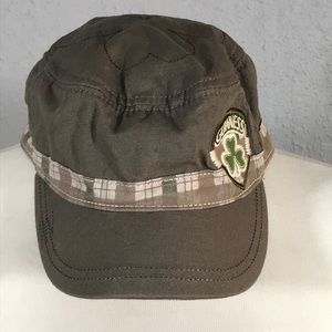Guinness Genuine Beer Olive Cotton Embroidered Hat